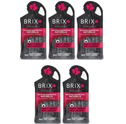 Brix Maple Syrup with Raspberry Energy Gel