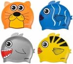 Finis Kids Animal Heads Silicone Swim Cap
