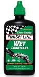 Finish Line Wet Lubricant - 4 oz / 120ml