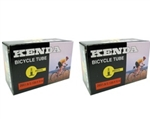 Kenda Off-Road Bicycle Tube, 26x1.9-2.125, 2-Pack