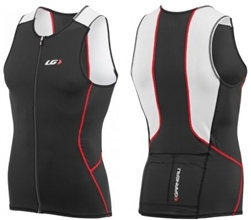 Louis Garneau Men's Comp Sleeveless Tri Top, 1020977