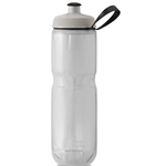 Polar Bottle Sport Insulated Bottle, Fade White, Silver