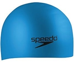 Speedo Silicone Long Hair Swim Cap, 7510036