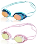 Speedo Women's Vanquisher 2.0 Mirrored Swim Goggle, 7750129