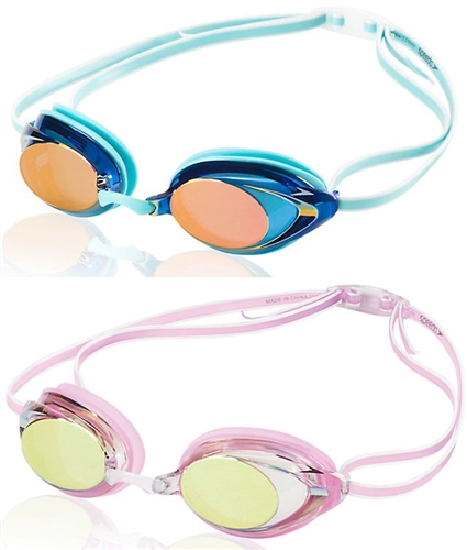 ff1ccd6404e6 Speedo Women s Vanquisher 2.0 Mirrored Swim Goggle