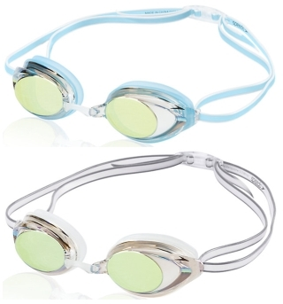c42b863edc5 Speedo Women s Vanquisher 2.0 Mirrored Swim Goggle