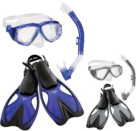 ee085ef3f427 Speedo Adventure Mask Snorkel Fin Set
