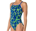 Speedo Caged Out Flyback Swimsuit, 7719801