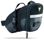 Topeak Aero Wedge Bag, Medium w/Straps