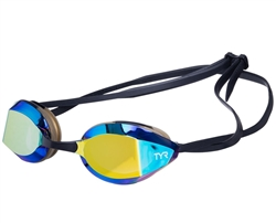 TYR Edge-X Racing Mirrored Nano Goggles