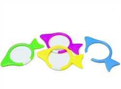 Water Gear Goin' Fishin' Dive Rings, 4-Pack
