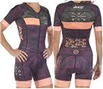 Zoot Women's LTD Tri Short Sleeve Racesuit - Camo
