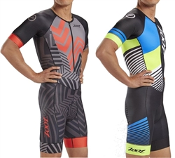 Zoot Men's LTD Tri Short Sleeve Aero Racesuit