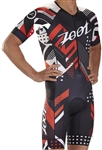 Zoot Men's LTD Tri SS Aero Racesuit - Team 19