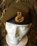 Staff Officers Beret Khaki General LT General Major Beret + Badge