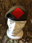 The Duke of Lancaster`s Regiment Beret + Patch