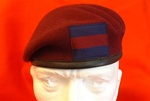 Airborne Guards Division Para Beret + Household Division Flash Household Cavalry Airborne Beret
