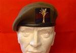 High Quality Welsh Guards Beret + Welsh Guards Bi-Metal Badge