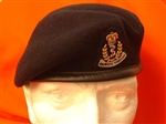 RAMC Beret and Beret Badge for Officers and Warrant Officers (Royal Army Medical Corps)