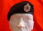 Royal Engineers Beret + Royal Engineer Metal Beret Badge
