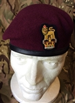 Airbourne Beret + Parachute Regiment  Beret Badge Brigadier Colonel Beret + Badge