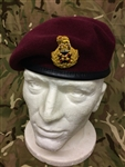 Staff Officers Beret Maroon Field Marshal Beret + Badge