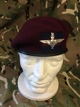 Household Division Airborne Maroon PARA Beret + Guards Flash + Airborne Badge
