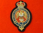 Blues & Royals RHG/D  Blazer Badge