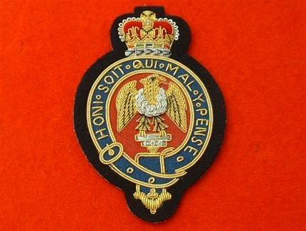 The Blues & Royals RHG/D Blazer Badge ( RHG/D Bullion Wire Blazer Badge )