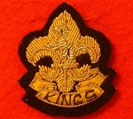 King`s Regiment Side Cap Badge ( KR Officers Beret Badge )