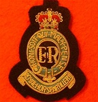Royal Horse Artillery Beret Badge ( RHA Officer`s Beret Badge )