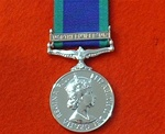 Full Size Northern Ireland Campaign Service Medal