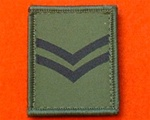 Corporal Combat Helmet Rank Patch ( CPL Combat Helmet Rank )