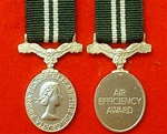Air Efficiency Award Miniature medal