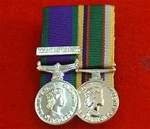 Court Mounted Northern Ireland Campaign Service & Cadet Force Miniature medals ( ni cadet lsgc )