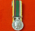 Court Mounted Cadet Force Miniature Medal