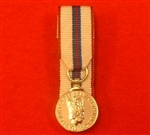 Court Mounted Queens Silver Jubilee Miniature Medal