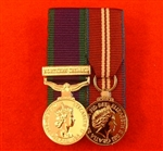 Court Mounted Northern Ireland Queens Diamond Jubilee Miniature Size Medals ( Court Mounted NI QDJ )