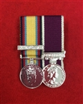 Court Mounted Gulf war 1, Army Long Service and Good Conduct Miniature Medals.