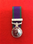 Court Mounted Northern Ireland Miniature Medal