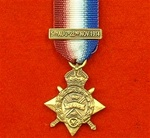 World War 1 1914 Star  Miniature Medal