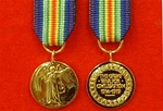 World War 1 Victory Medal Miniature