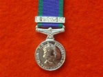 Air Operations Iraq Campaign Service Miniature Medal