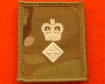 LT COL UBACS MTP Rank Patch Ivory Lieutenant Colonel Multicam Combat Rank Patch