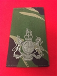 WO1 Jungle DPM Combat Rank Slide ( Warrant Officer Class 1 jungle DPM Combat Rank Slide )