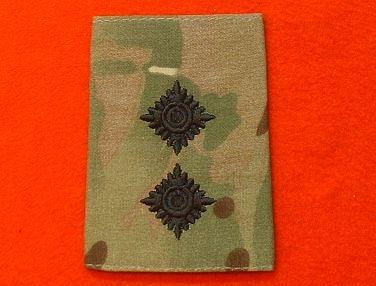 CAPTAIN BRITISH ARMY SURPLUS DPM /& DESERT DPM RANK SLIDE,2nd LT LIEUTENANT