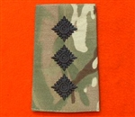 Black Captain Multi cam Combat Rank Slides ( MTP Captain Rank Slides )