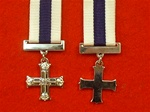 Military Cross Queens Crown Miniature Medal MC Medal