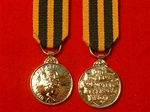 Queen`s Volunteer Reserves Miniature Medal
