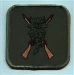 RAF 2503 SQN X Rifles Embroidered Badge